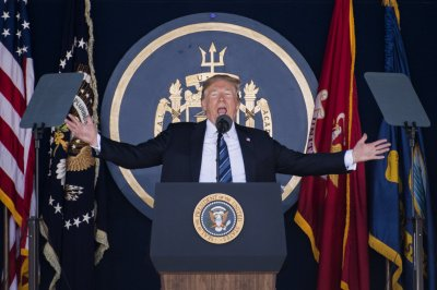 Watch live: Trump gives commencement address at U.S. Naval Academy