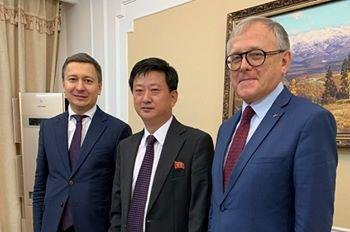 North Korea head of North American affairs revealed in Russian Facebook post