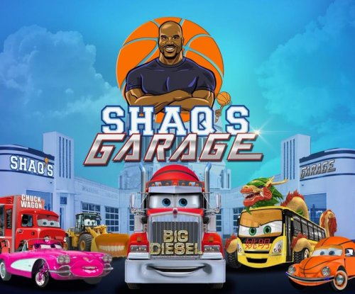 Shaquille O'Neal to star in 'Shaq's Garage' animated kids series