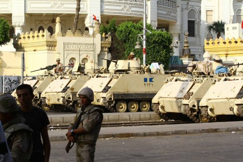 U.S. not lecturing Egypt on democracy