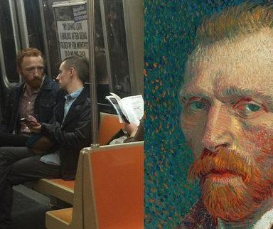 Vincent van Gogh's doppelganger turning heads in Brooklyn