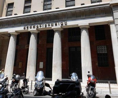 Athens Stock Exchange reopens, falls 23 percent