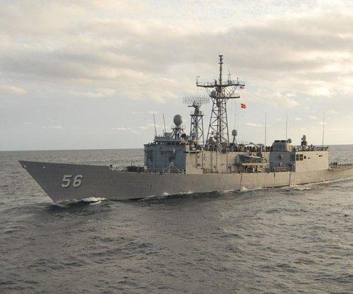 U.S. Navy decommissioning frigate USS Simpson
