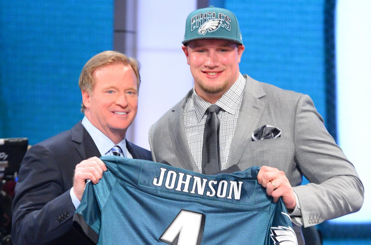 Jerseys NFL Sale - Report: Philadelphia Eagles RT Lane Johnson facing 10-game ban ...