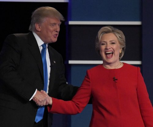 Presidential debate: Clinton, Trump open sparring on economy