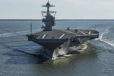 HII awarded $687M to modernize, maintain USS Gerald R. Ford