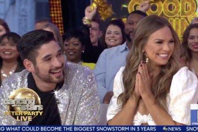 Hannah Brown, Alan Bersten celebrate 'DWTS' win on 'GMA'