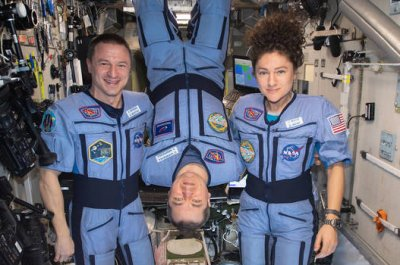 Astronauts depart space station Thursday to a changed world