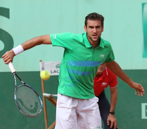 Cilic wins first-round match at Zagreb Indoors