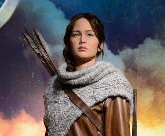 Katniss Everdeen wax figure unveiled at Madam Tussauds