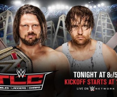 WWE TLC: AJ Styles, Dean Ambrose reach for the title, Nikki Bella ends rivalry with Carmella