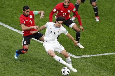 World Cup: Uruguay edges Egypt 1-0 in group stage match