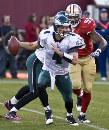 Kolb gets Eagles' starting nod for Sunday