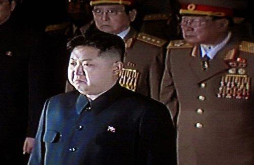 Kim Jong Un seen leading military