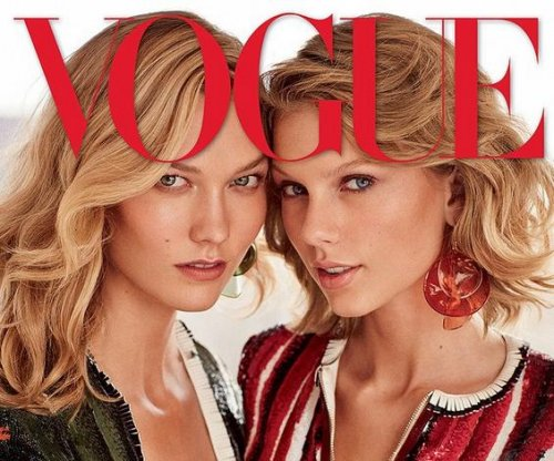 Karlie Kloss talks Vogue cover with Taylor Swift