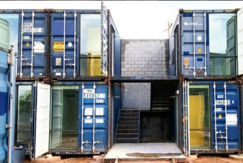 Phoenix opens west coast 39 s first shipping container Container appartement