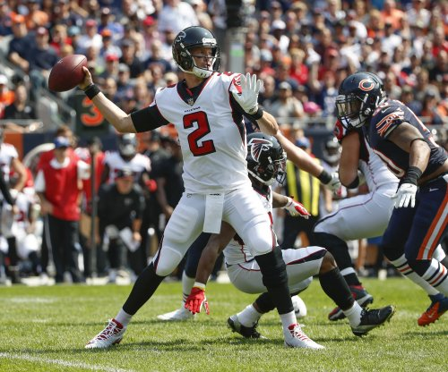 Atlanta Falcons' Matt Ryan pleased focus on football, not contract