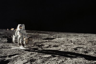 On This Day: Third, fourth humans walk on moon