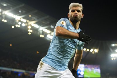 Manchester City dominates Burnley, Sergio Aguero injured