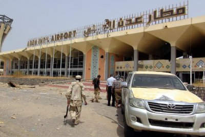 Rebels kill at least 26 in Yemen airport attack targeting new gov't cabinet ministers