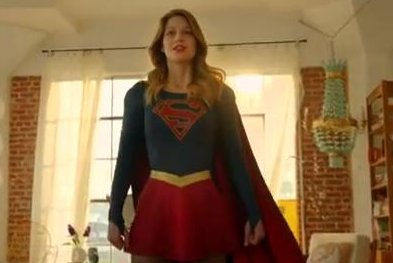 Melissa Benoist flies in first 'Supergirl' trailer