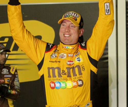 Kyle Busch ends Martinsville drought with truck race win