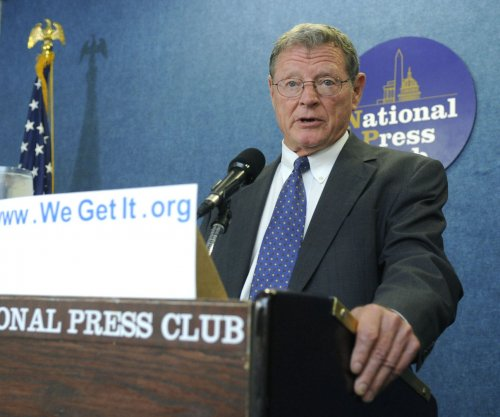 Oklahoma Sen. Jim Inhofe escapes runway incident unharmed