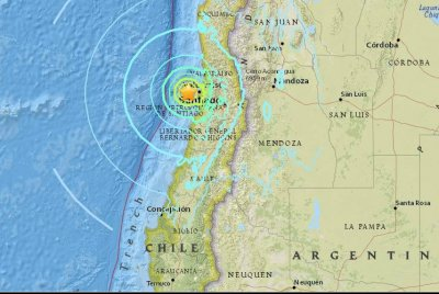 Major earthquake shakes Chile, but no damage reported