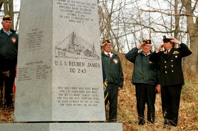 On This Day: USS Reuben James sunk by U-boat