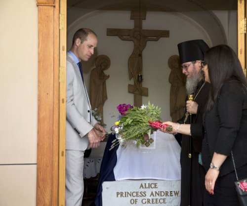 Prince William visits great-grandmother's tomb in Jerusalem
