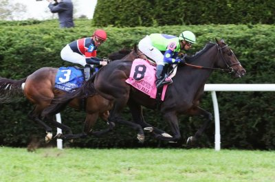 UPI Horse Racing Roundup: Rushing Fall wins at Keeneland