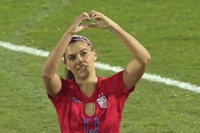 Alex Morgan scores 100th international goal for U.S. women's soccer