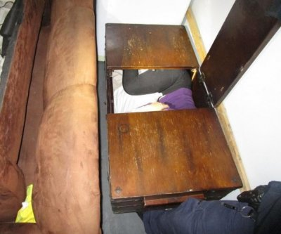 CBP agents find 11 Chinese migrants hiding in furniture at U.S.-Mexico border