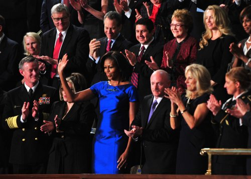 Michelle Obama: Husband sings all the time