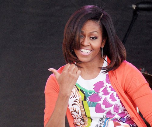 Little girl tells Michelle Obama she is too young to be 51