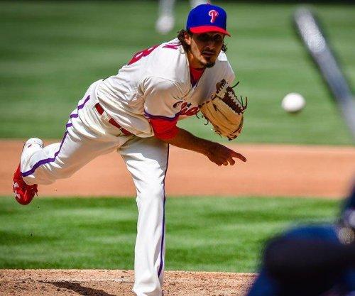 Philadelphia's 3 straight homers lead Phillies to third straight victory over Atlanta Braves