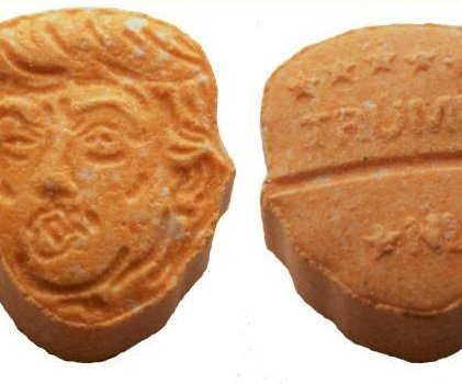 German police seize 5,000 ecstasy tablets bearing Trump's face