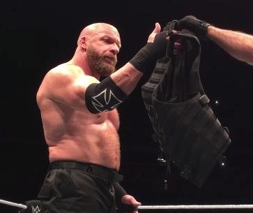 Triple H teams up with The Shield at WWE live event in Glasgow