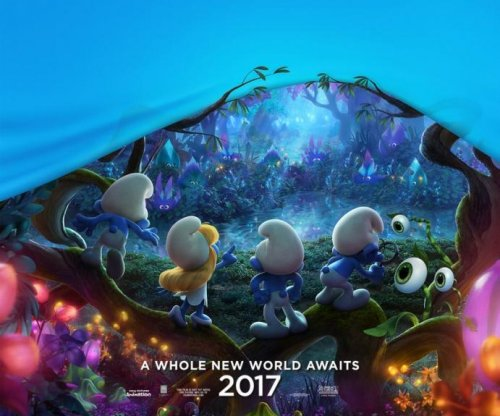 Demi Lovato shares 'Smurfs: The Lost Village' poster