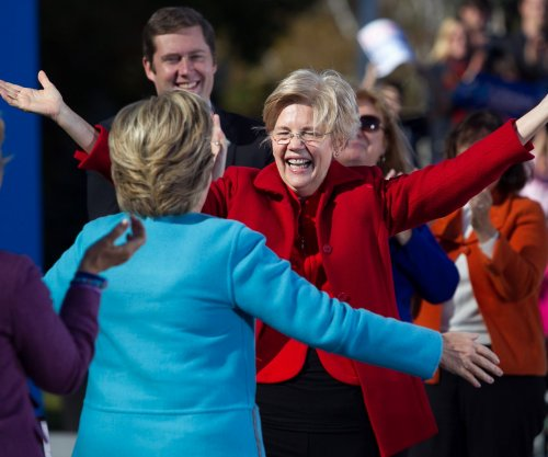 Elizabeth Warren to Trump at N.H. Clinton rally: 'Women have had it with guys like you'