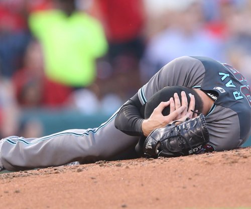 Arizona Diamondbacks LHP Robbie Ray gets normal CT scan result after taking liner to head