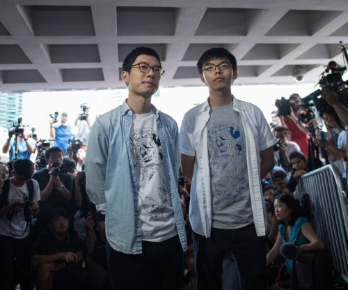 Occupy leaders Joshua Wong and Nathan Law released on bail