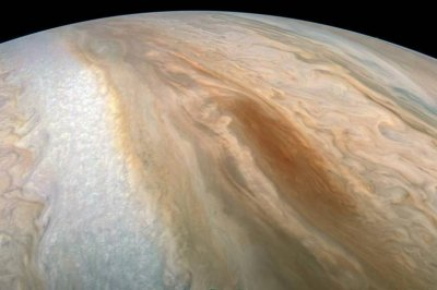 Juno image showcases Jupiter's brown barge
