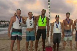 Teams compete for title of Los Angeles County's toughest lifeguards