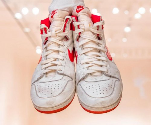 Michael Jordan's rookie year shoes sell for record $1.47M
