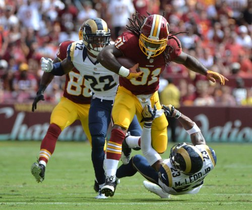 Washington Redskins ride rookie RB Matt Jones, run over St. Louis Rams 24-10