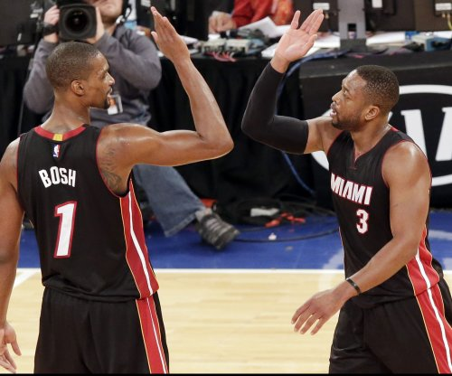 Chris Bosh insists he won't quit