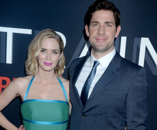 Married stars John Krasinski, Emily Blunt start work on 'A Quiet Place'
