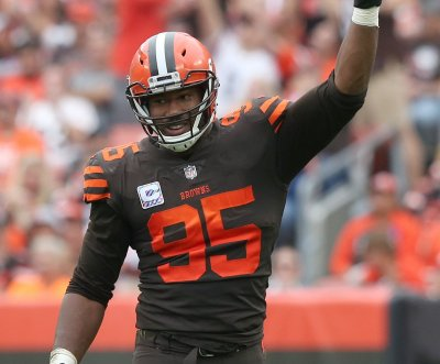 Cleveland Browns' Myles Garrett: Fan punched me in face