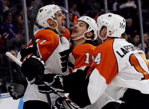 NHL: Philadelphia 3, New Jersey 2 (OT)
